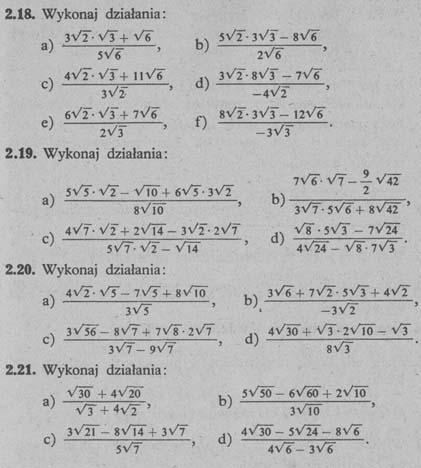Liczby niewymierne – zadania 3