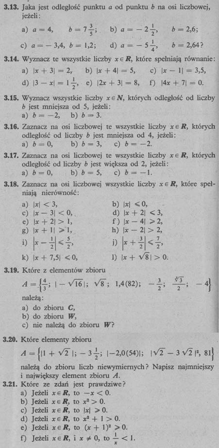 Liczby rzeczywiste – zadania 3