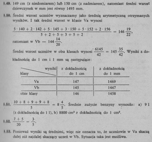 Liczby wymierne –  odpowiedzi 10