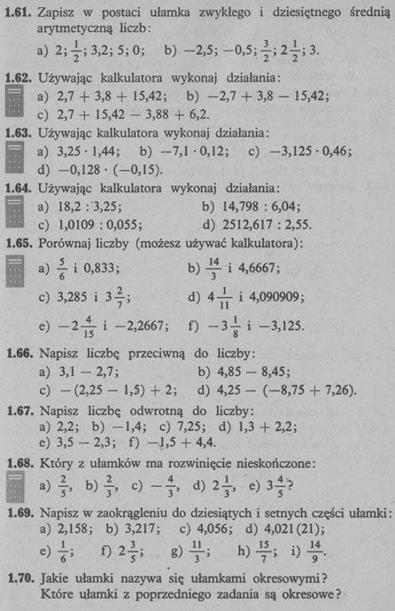 Liczby wymierne – zadania 12