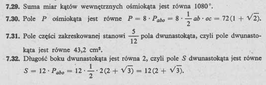 Pola wielokątów – rozwiązania 4